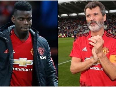 Keane: Pogba letting United and Mourinho down