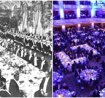 THEN AND NOW: Vintage photos of famous hotels and what they look like today