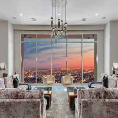 Dream House of the Week: Matthew Perry's Los Angeles penthouse