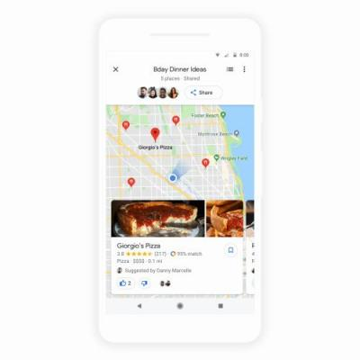 Google launches its group planning feature for Maps