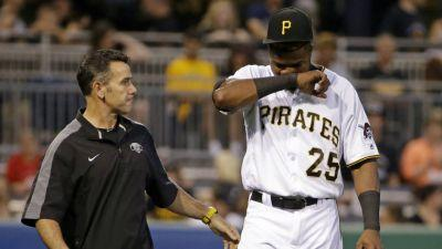 Pirates RF Polanco to skip Canada trip with shoulder issue