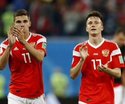 Russia on their way to improbable knockout stage run