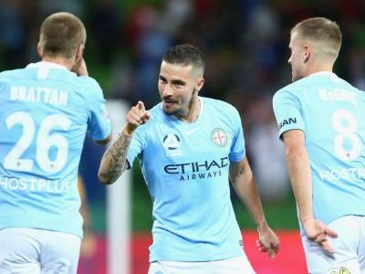 Jamie Maclaren saves draw for Melbourne City vs. Adelaide