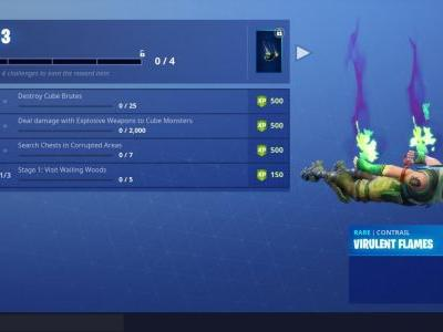 Fortnitemares Challenge Guide Part 3: Cube Brutes, Corrupted Areas, And More