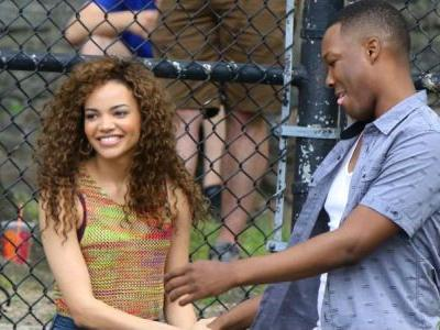 In the Heights Set Photos Offer First Look at Leslie Grace & Corey Hawkins
