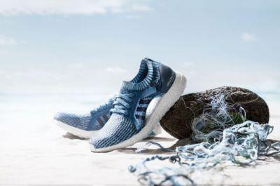 Adidas are launching a range of UltraBoost trainers made from recycled ocean plastic