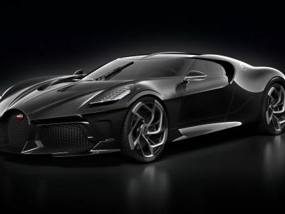 Bugatti 'La Voiture Noire' One-Off Sold For R270 Million - Most Expensive New Car Ever