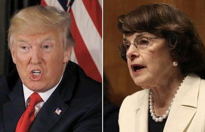 Trump slams 'sneaky Dianne Feinstein,' calls on GOP to take control over Russia probe
