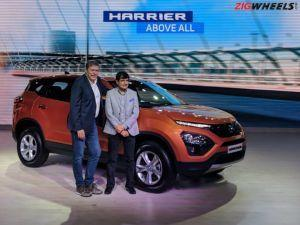 Tata Harrier Launched At Rs 1269 lakh
