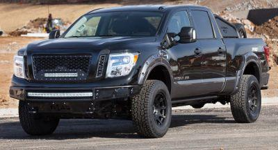 Nissan Motorsports Bringing Angry Titan XD Pro-4X At The Chicago Auto Show