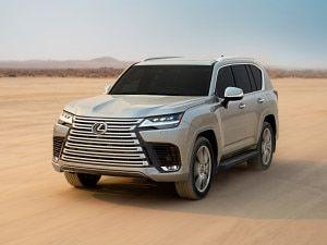 2022 Lexus LX Breaks Cover In The UAE Could Be Launched In India