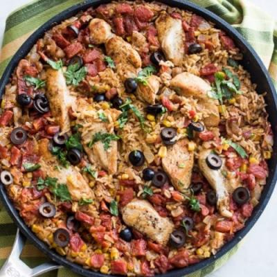 One-Pot Taco Chicken and Rice