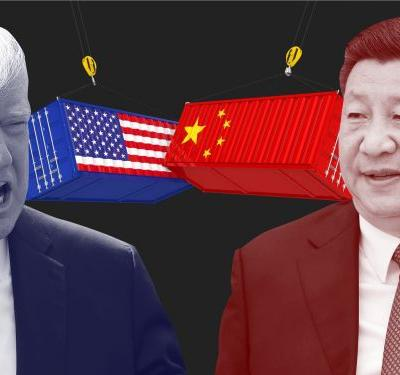China says the US has 'a knife to its neck' over trade talks