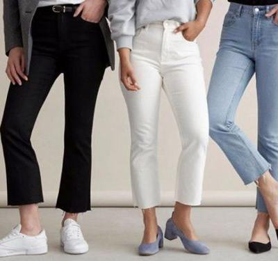 Everlane's newest pair of cropped jeans are supposed to look good at any height - so 4 of us tested them out