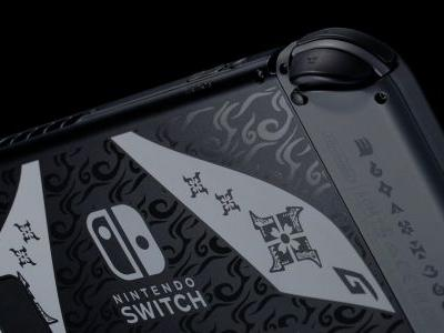 Check out the Monster Hunter Rise-themed Switch coming to Europe and Japan