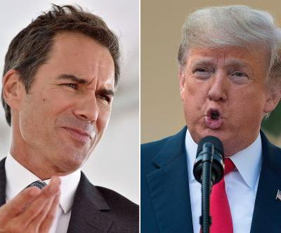 Why 'Will & Grace' star Eric McCormack won't tweet at Trump