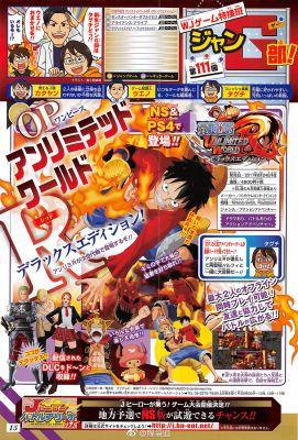 Deluxe Edition Of One Piece: Unlimited World Red Is Coming To Nintendo Switch