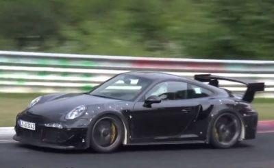 New Porsche 911 GT2 RS to Get Water Injection, Top 640 HP