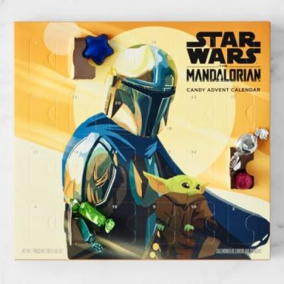 These 'Star Wars' Advent Calendars Include Treats Like a Candy Cane Lightsaber & a Lego Baby Yoda