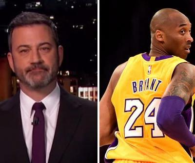"""Jimmy Kimmel Gives Tear-Filled Tribute to Kobe Bryant: """"He Was a Bright Light"""""""
