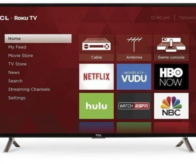 40-inch smart TV with built-in Roku costs just $230 on Amazon now
