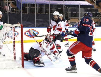 Rangers blank Devils again to keep playoff push going