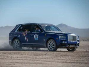 Who Takes The Rolls-Royce Cullinan Rallying What Were They thinking