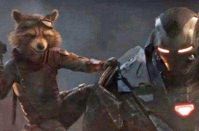 Latest Endgame Footage Offers Better Look at Rocket's