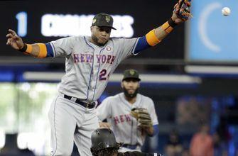 Canó leaves Mets game with left quadriceps tightness