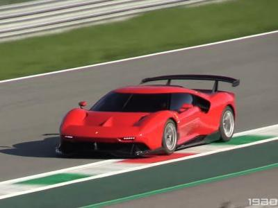 One-Off Ferrari P80/C Spotted On The Run at Monza