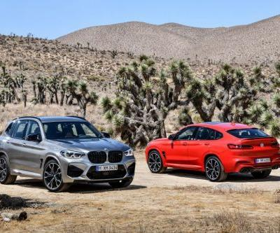 BMW X3 M and X4 M Revealed With Competition Offerings