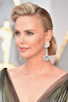 The Best Jewelry from the Oscars 2017Charlize Thereon in Chopard
