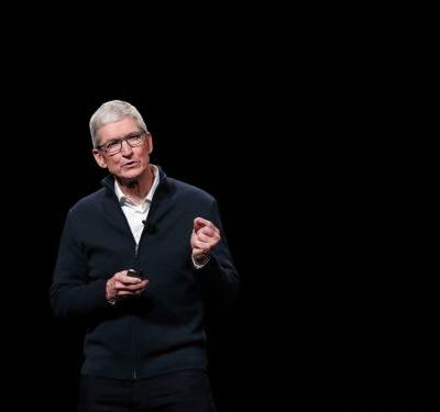 Apple CEO Tim Cook says there's a 'false tradeoff' between technological progress and forcing people to give up their personal data