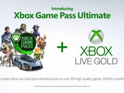Xbox Game Pass Ultimate Coming Later This Year, Includes Xbox Live Gold and Game Pass