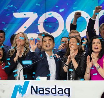 Video conferencing company Zoom soared 81% in its first day of public trading - now its CEO and CFO are focusing on these 3 goals