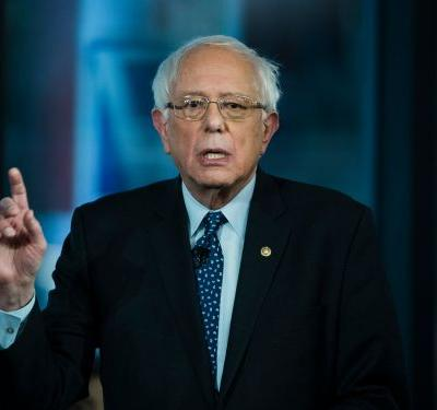 Bernie Sanders says it's a 'disgrace' that Amazon and Netflix pay nothing under Trump's tax bill