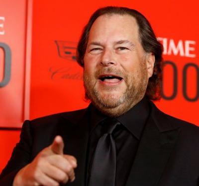 Salesforce's stock is up 7% after beating Wall Street's expectations