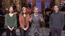 Steve Carell Teases 'The Office' Reboot During 'SNL' Monologue