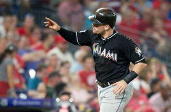 Marlins not able to cool off Phillies in 8-3 loss