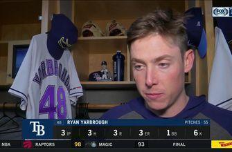 Ryan Yarbrough on loss to Boston: We knew they were going to be a tough competition