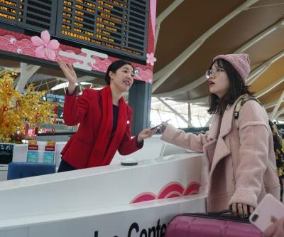 China sees over 12m air trips during Spring Festival holiday