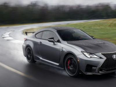 The 2020 Lexus RC F Track Edition Adds Aero and Lightness