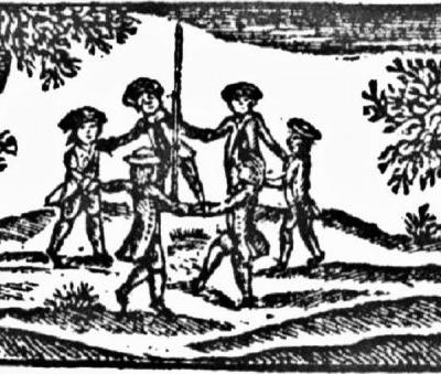 17C American colonist William Bradford (1590-1657) is disgusted with MAY DAY celebrations