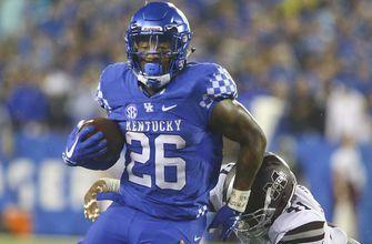 Kentucky topples No. 14 Mississippi State 28-7