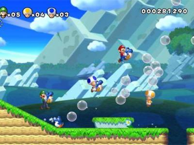 Rumor: New Super Mario Bros. U Might Be Coming to Switch
