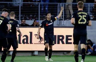 Vela scores league-leading 15th goal as LAFC down Impact