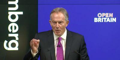 Tony Blair is rallying Britain to block Brexit