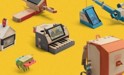 Nintendo knew Nintendo Labo sales would be different from that of Mario and Zelda, have a variety of non-franchise Switch ideas to share at a later date