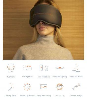 Dreamlight Is A Tech-Enabled Sleeping Mask & Much More - CES 2018