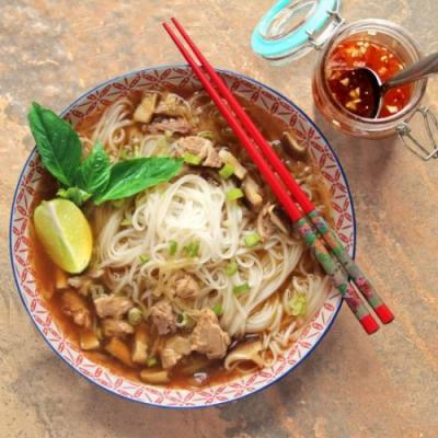Slow-Cooker Duck Pho